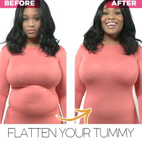 Intimate™ Killer Curves Open Bust Tummy Control Shaper Bodysuit